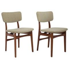 Mid-Century Danish Teak Side, Desk, Dining Chair