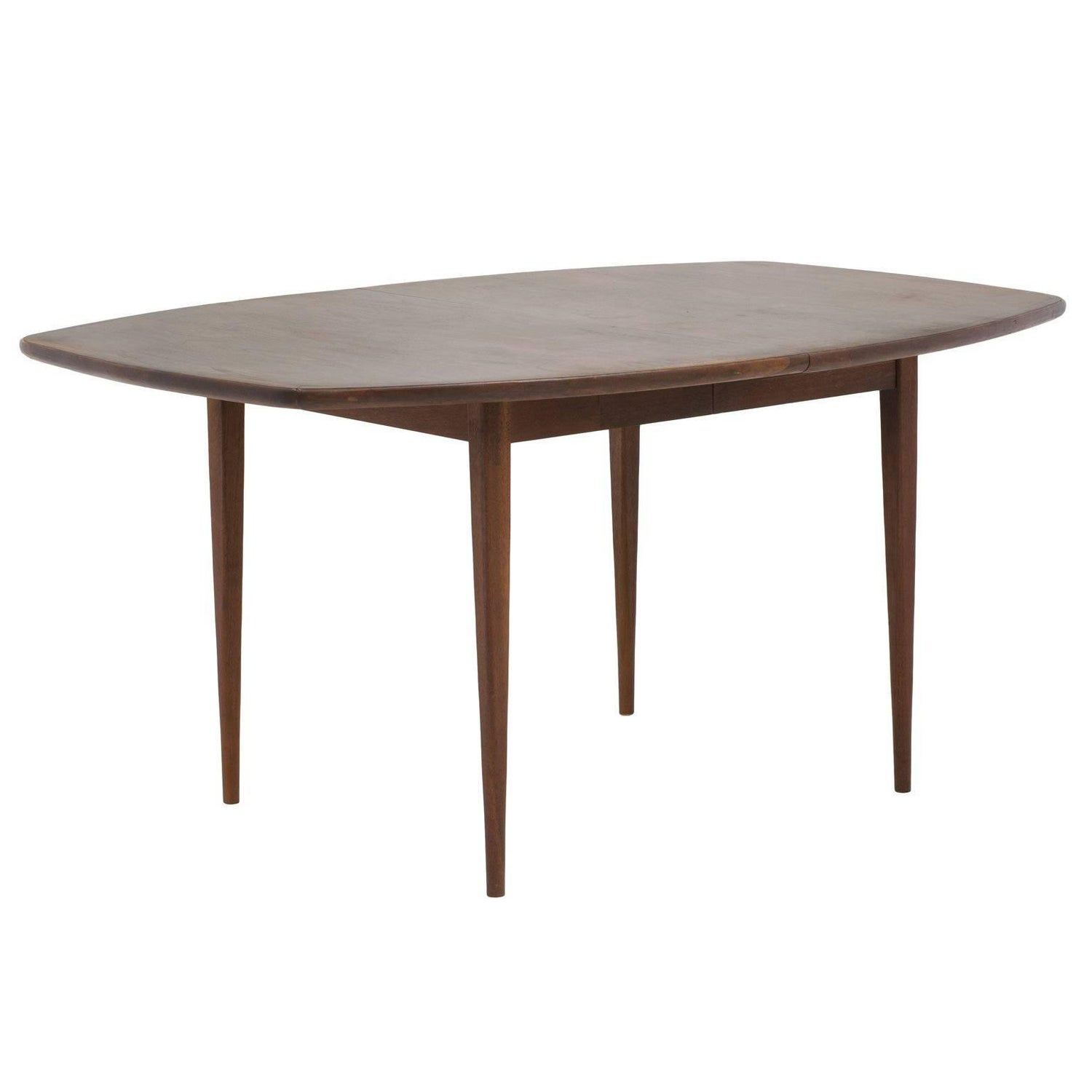 Mid Century Solid Walnut Dining Table by Dillingham Attributed to