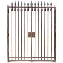 French Empire Style Wrought Iron Gate, circa 1950