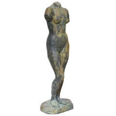 Lifesize Bronze Sculpture by Georges Coulon