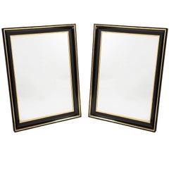 Pair of Biedermeier Style Mirrors by Iliad Design