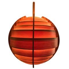1965 Hans-Agne Jakobsson Ellysett Lamp Made of Pine Extremely Rare