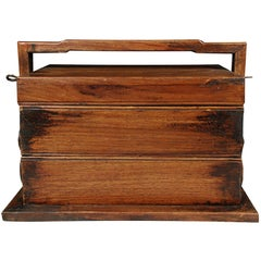Chinese Rosewood Stacked Snack Box