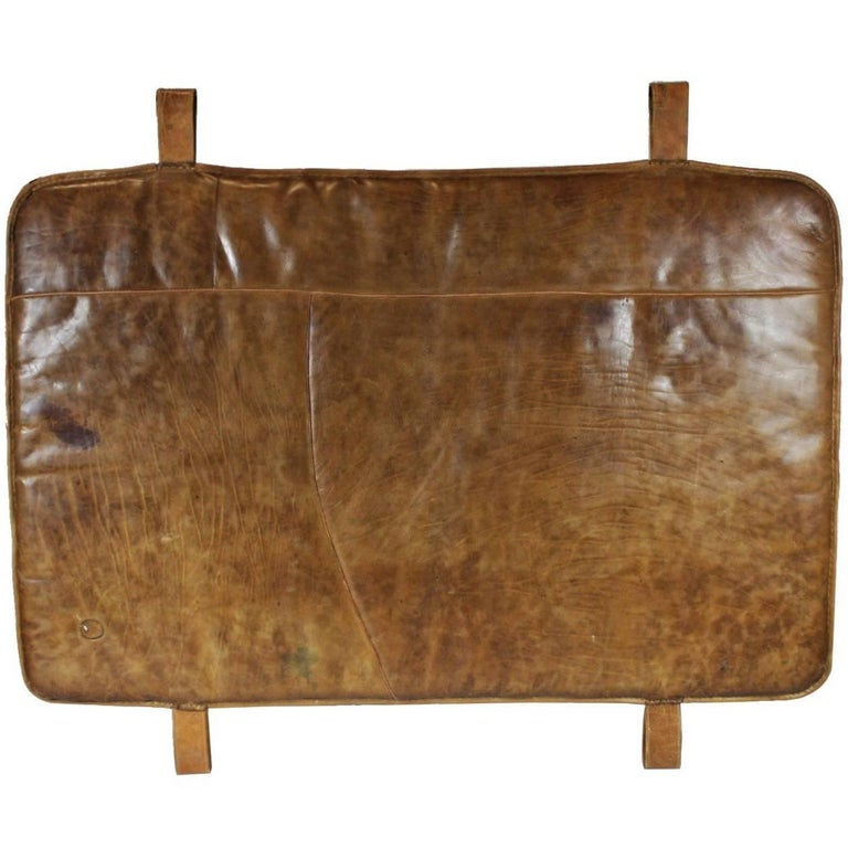 1930s Leather Gym Mat 2 Pcs At 1stdibs