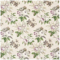 Schumacher Vogue Living Collection Cecil Floral Chintz Wisteria Fabric