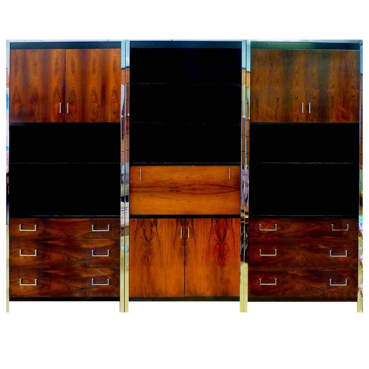 Bon Replacement Handles For Rosewood Furniture By John Stuart For Sale