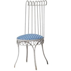 Four Chair Set in the Style of Mathieu Matégot, France, 1950