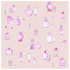 """All the Glam"" Wallpaper from the Teenage Collection"