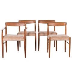 H.W. Klein Teak Dining Chairs for Bramin Mobler, Denmark, 1965