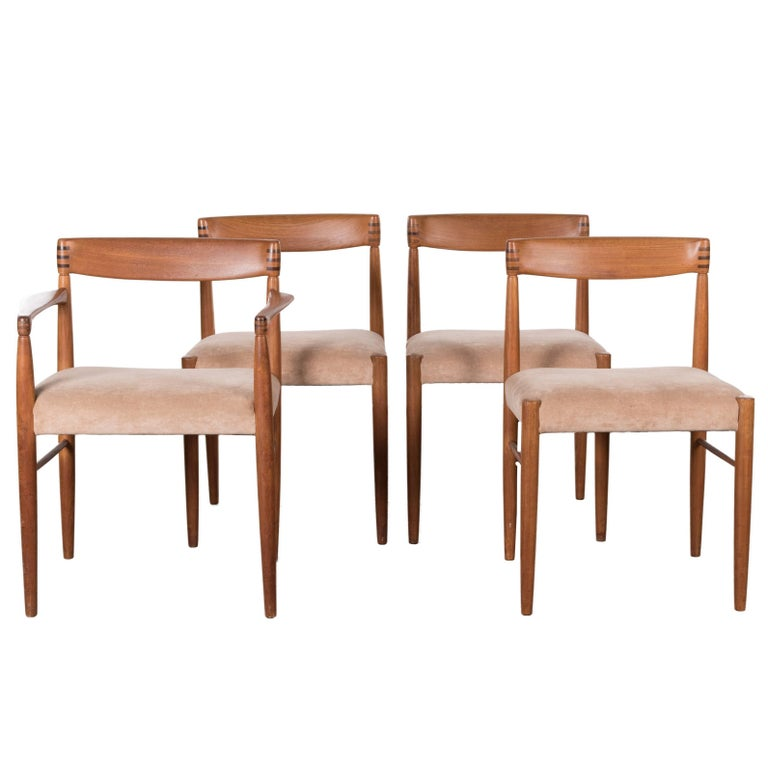 17d082c704b2 H.W. Klein Teak Dining Chairs for Bramin Mobler