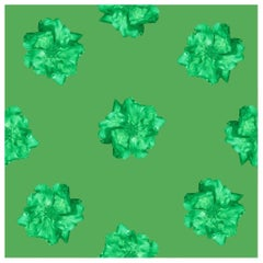 Furr Green Rose, Wallpaper from the Nature Collection
