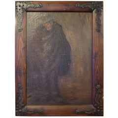 Framed Painting from the Argentine Estate of Jose Thenee
