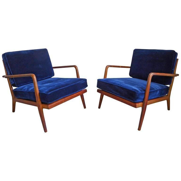 Mid Century Modern Lounge Chairs By Mel Smilow At 1stdibs