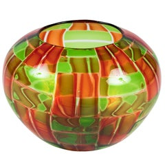 Murano Art Glass Bowl by Gianni Toso