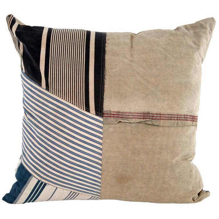 Vintage Textile Pillow 1