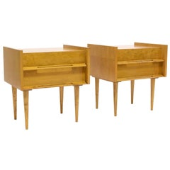 Pair of Nightstands/End Tables by Edmond Spence