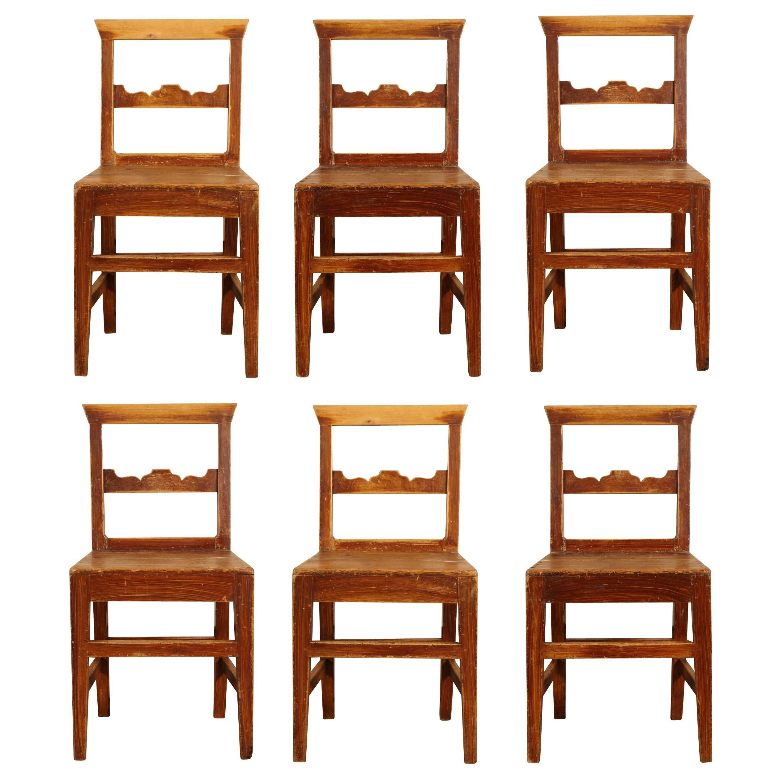 Rustic French Dining Chairs french provincial chairs. french provincial 18th cent walnut open