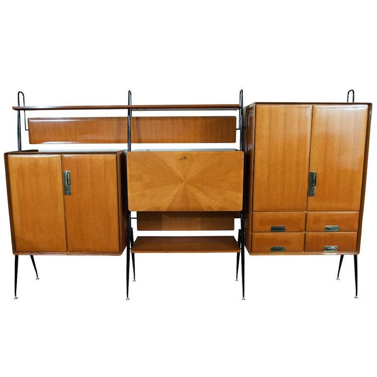 Silvio Cavatorta Wall Unit For Sale