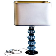 Murano Glass Vintage Table Lamp