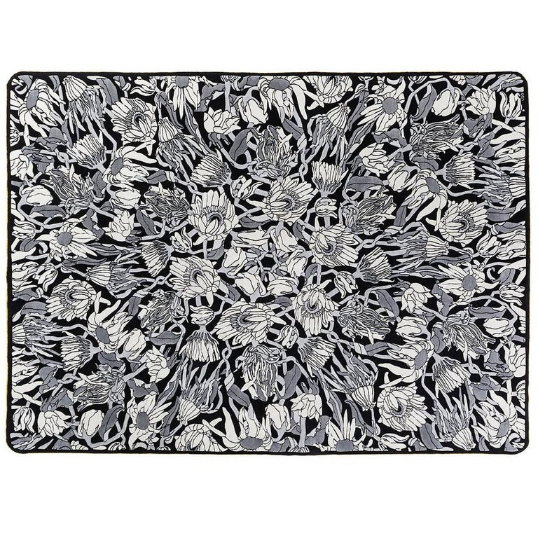 Withered Flowers, Hand-Knotted Rug, Designed for Nodus by Studio Job
