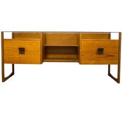 Danish Teak Glass Topped Desk Dressing Table G Plan Eames Era