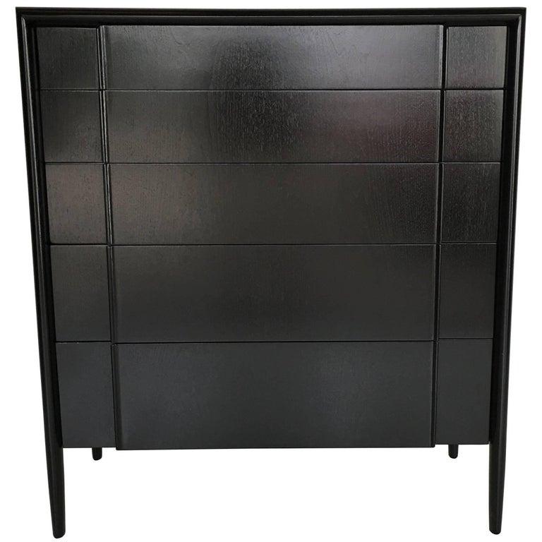Ebonized Walnut Modernist Dresser