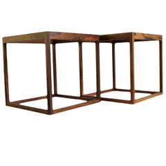 Midcentury Cube Tables