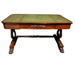 Outstanding William IV Rosewood Library Desk