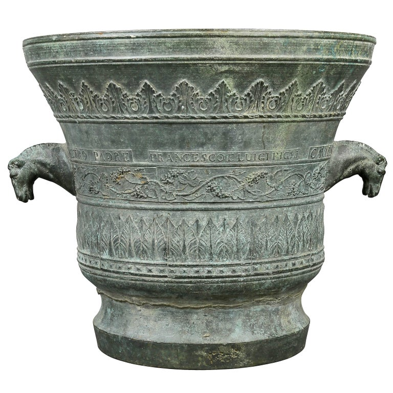 Large Veronese Bronze Mortar