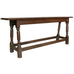 Jacobean Oak Bench