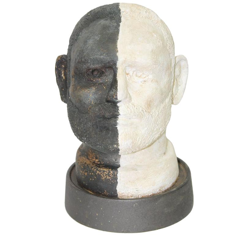 Black and White Head For Sale