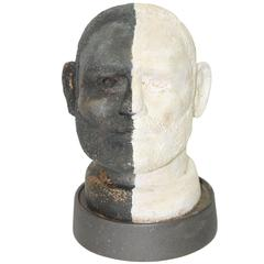 Black and White Head