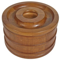 Danish Teak Ice Bucket by Jens Quistgaard for Dansk