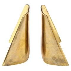 Ben Seibel Brass Bookends Jenfred-Ware Shovel, USA, 1950s