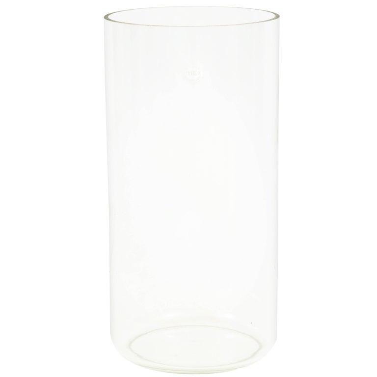 Pyrex Glass Laboratory Vessel Vase Signed USA, 1970s
