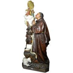 Saint Paschal, Statue Religieuse, Paris, Maison Raffl