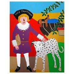 'Little Lord Fauntleroy' Painting by Alan Fears Portrait Pop Art
