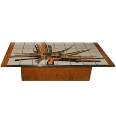 Tile Coffee Table by Cargil