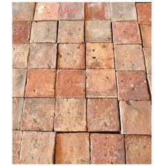 Antique Square Terracotta Tile, circa 1800s