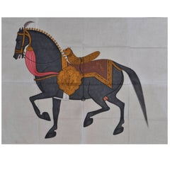 Exceptional Painting, Called Pitchwaï on Cotton, India, 20th Century