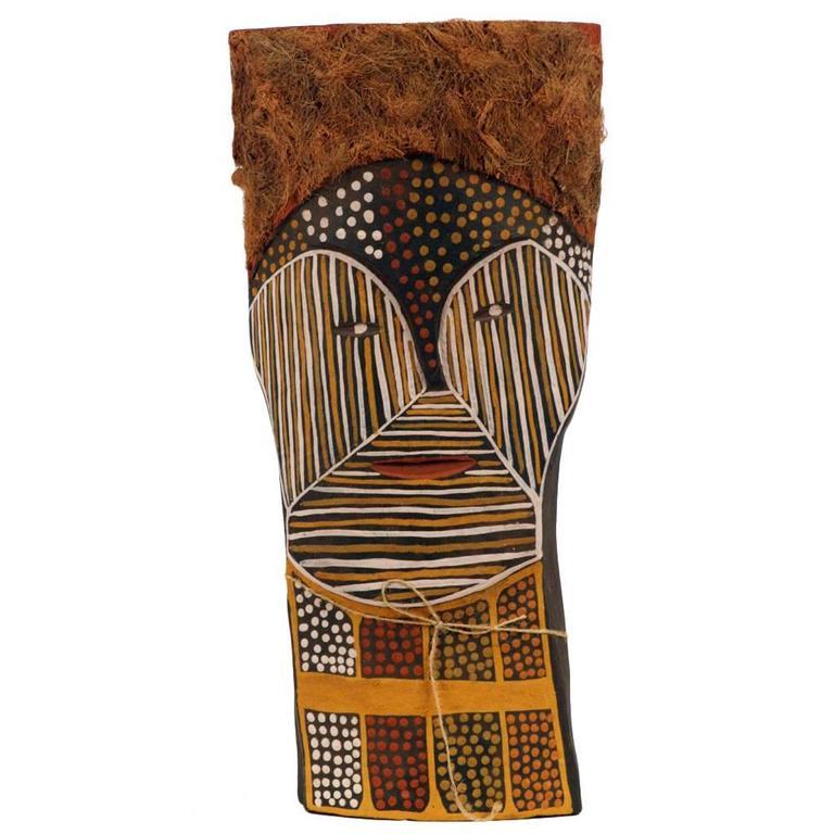 Aboriginal Australia Bima Figure Carving