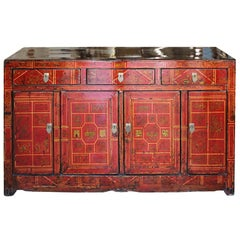 Red Wedding Sideboard