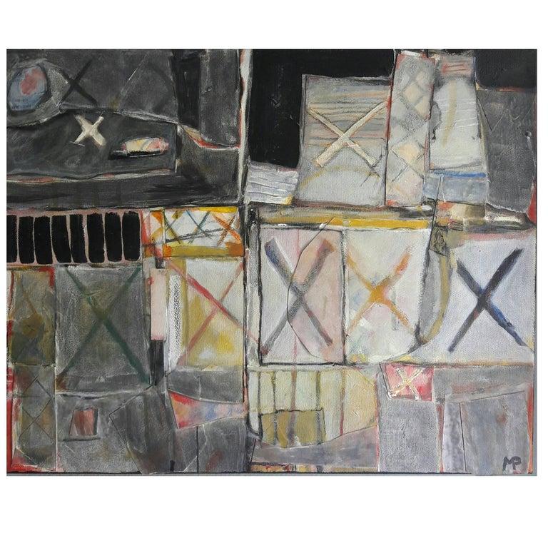 "Mark Palmer ""Box of Dreams"" Mixed-Media on Canvas Painting, 2015"