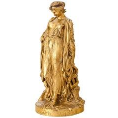 Bronze Sculpture of Sappho, J. Clésinger, France, 19th Century