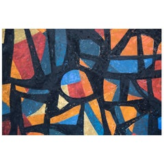 Tracery Abstract Painting by Timothy Norr