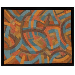Rectangular Shift Abstract Painting by Timothy Norr