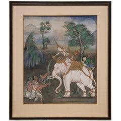 Balinese Elephant Painting