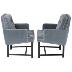 Pair of Edward Wormley for Dunbar Armchairs, circa 1960s