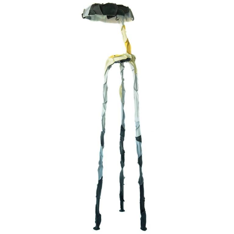 Three-Legged Skin Lamp by Pepe Heykoop
