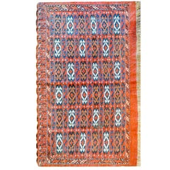 Early 20th Century Sumak Bag Face Rug